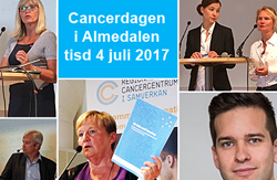 collage från cancerdagar