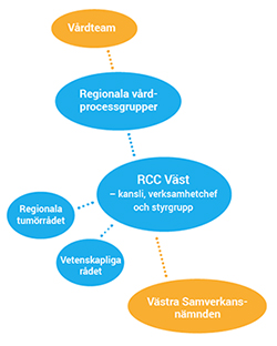 Informationblad om RCC Västs organisation
