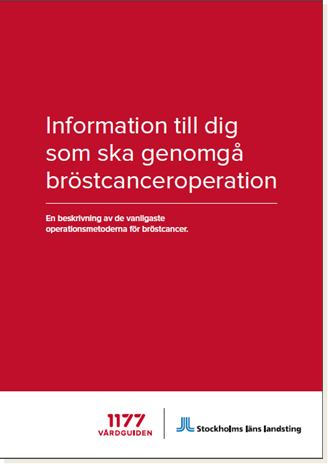 Folder om bröstcanceroperationer